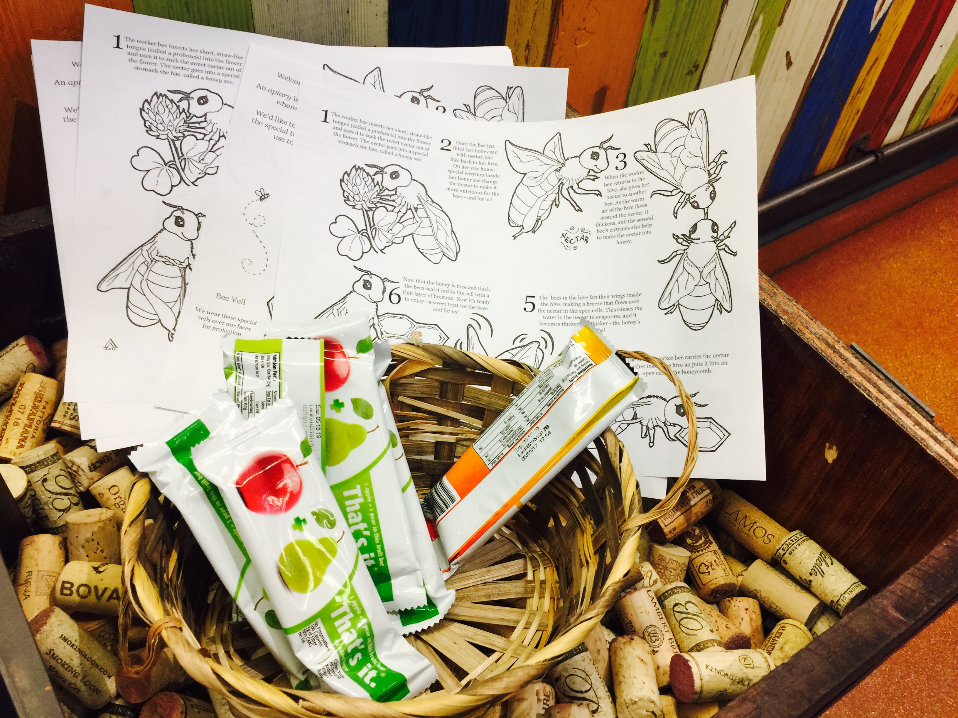 money-saving hacks at Whole Foods Market – coloring pages and snacks