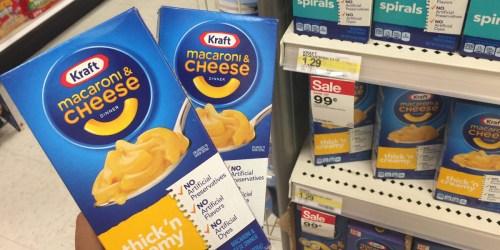 Target: Kraft Mac & Cheese Just 69¢ Per Box