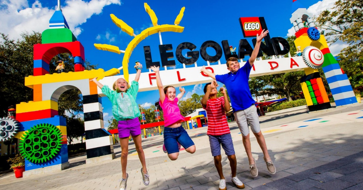 graphic about Legoland Printable Coupons called Free of charge LEGOLAND Childs Ticket with Grownup Ticket Buy