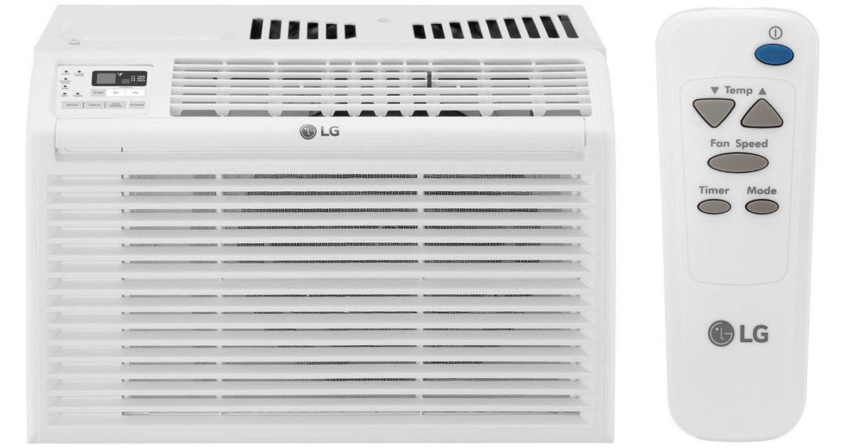 Lg Window Air Conditioner W Remote Only 134 10 Shipped