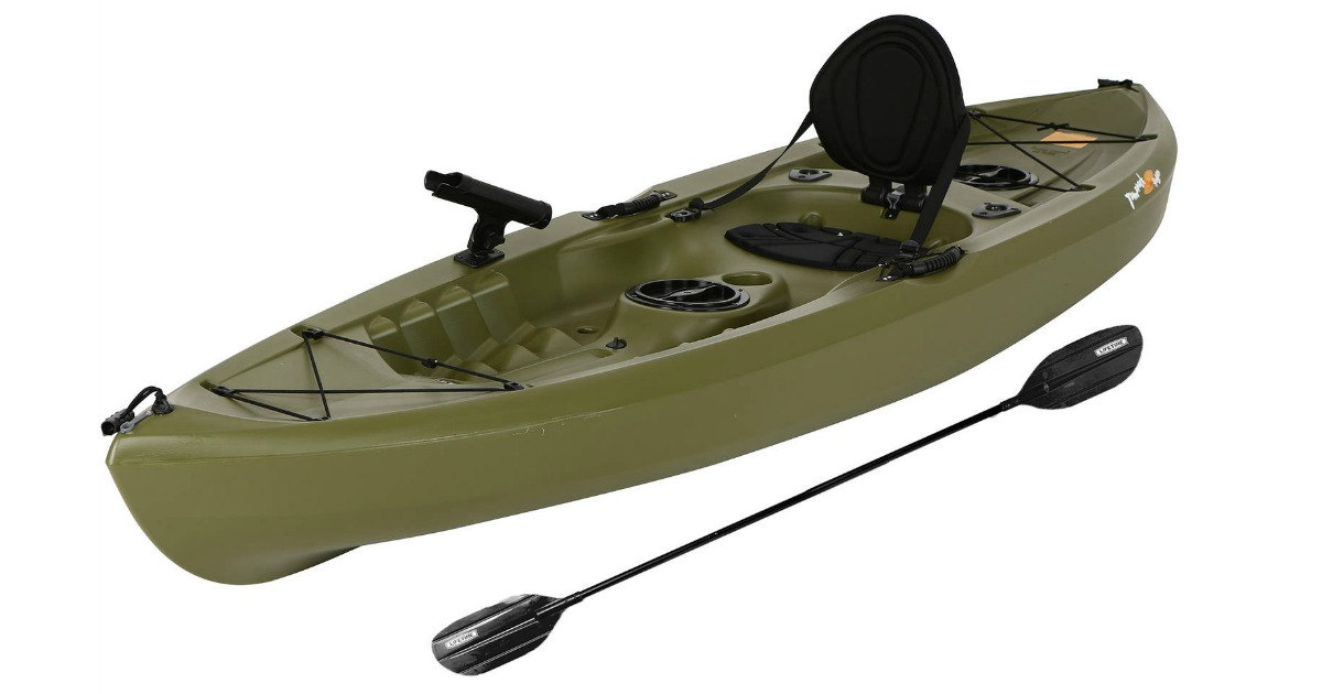 Walmart: Lifetime Tamarack 120 Angler Kayak Only $215 43