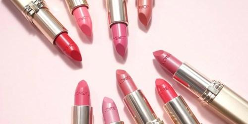 Amazon: L'Oreal Paris Colour Riche Lipstick Only $3.67 Shipped