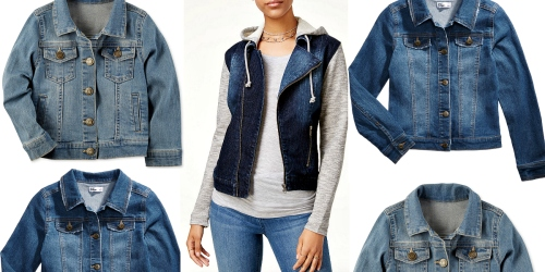 Macy's Shoppers! Extra 20% Off Clothing & Accessories = Nice Deals on Denim Jackets