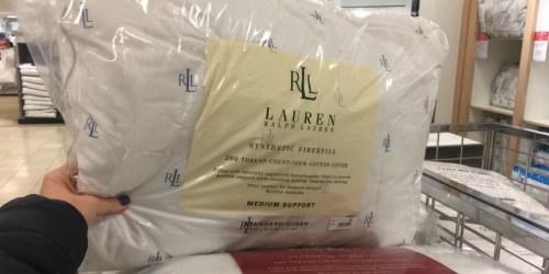 Macy's: Ralph Lauren Down Alternative Pillows Only $6.99 & More