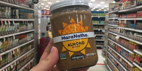 Target Shoppers! Save BIG on MaraNatha Almond Butter