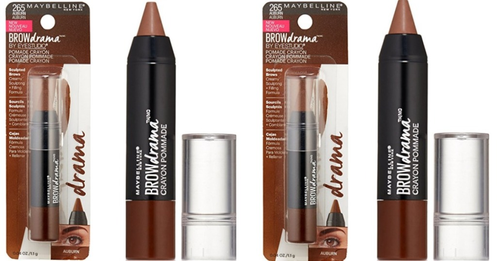 8abcce0ff60 Amazon: Maybelline Brow Drama Crayon ONLY 83¢ Shipped - Hip2Save