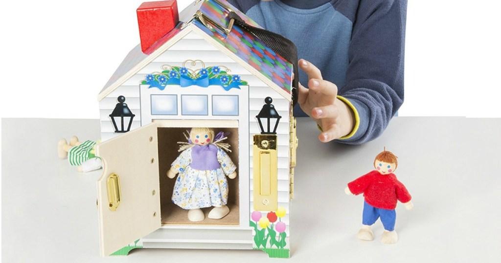 Amazon Melissa Doug Doorbell Dollhouse Only 1499 Fantastic