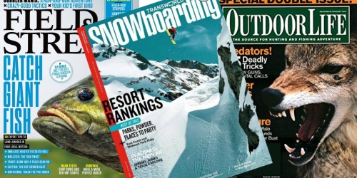 FREE 1-Year Subscriptions To Field & Stream, Outdoor Life & More Magazines