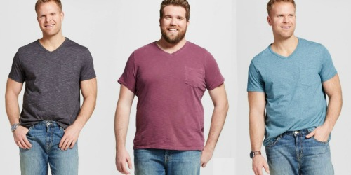 Target.com: Men's Big & Tall Tees ONLY $2.38 (Regularly $11.99) + More