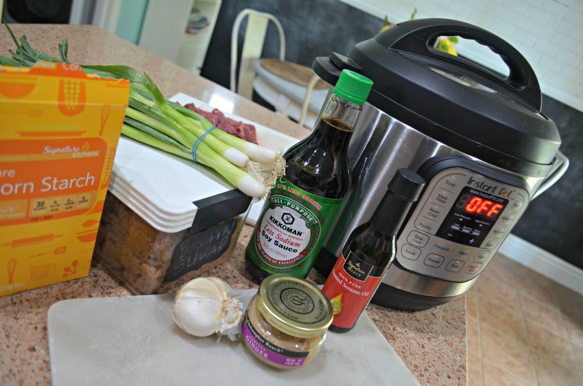 ingredients for instant pot mongolian beef