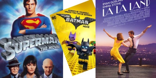 Microsoft.com: Digital HD Movie Rentals Only 99¢ (The LEGO Batman Movie, La La Land & More)