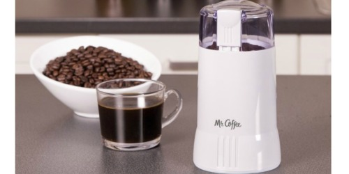 Mr. Coffee Coffee Grinder Only $8.63 Shipped