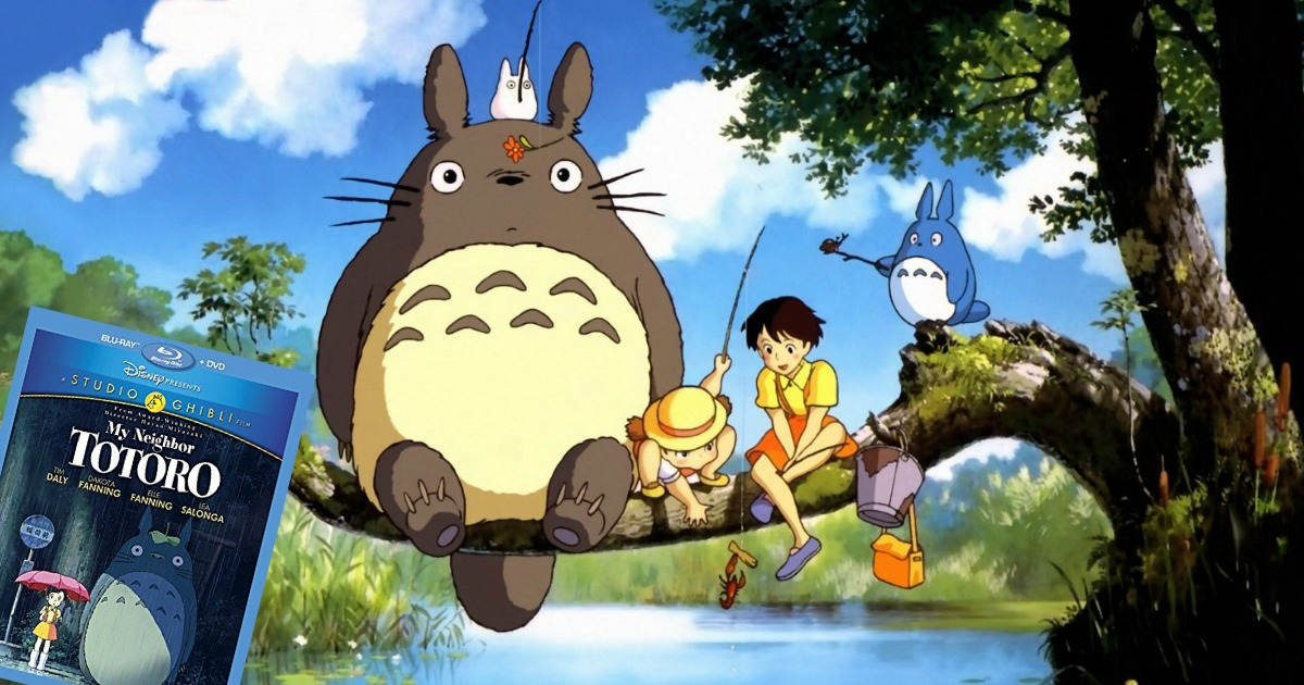 My Neighbor Totoro Blu Ray: My Neighbor Totoro Blu-Ray + DVD Only $10.46