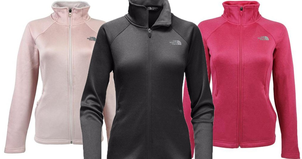 dcfc44658 The North Face Women's Full Zip Jacket Only $42 Shipped (Regularly ...
