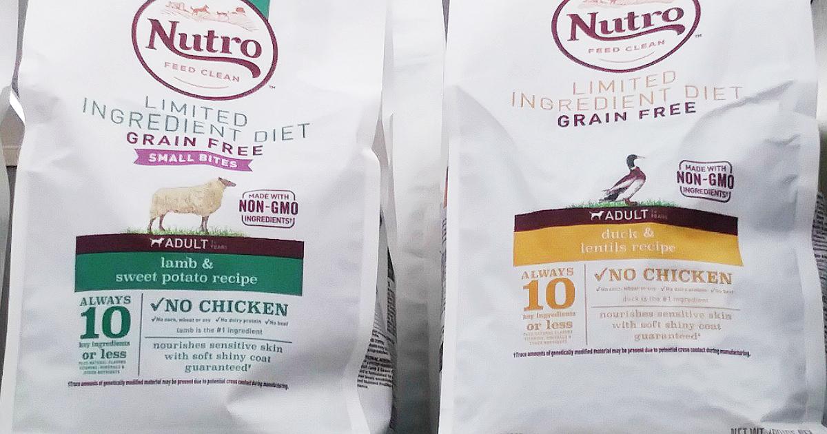 FREE BAG OF NUTRO