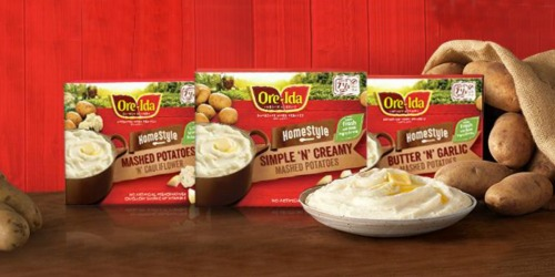 Target: Ore-Ida Simply Mashed Potatoes Only $1.29 (Regularly $3.99)