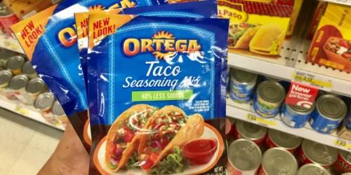 New $1/2 Ortega Printable Coupon + Target Deals = Cheap Taco Tuesday