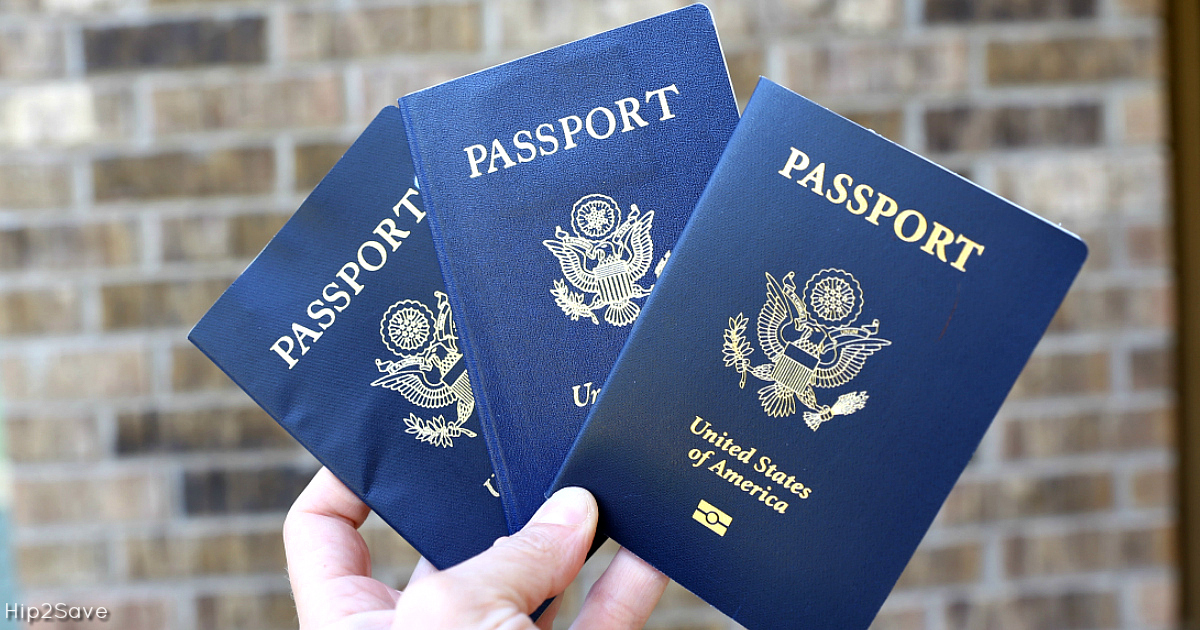 Have you heard the news? Nine states are requiring passports for domestic flights in 2018 - pictured are passports