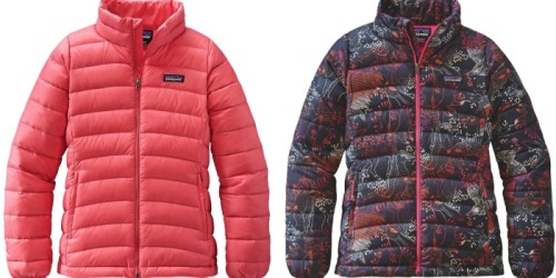Patagonia Girls' Down Jacket Just $53.55 (Regularly $119)+ Save on The North Face & More