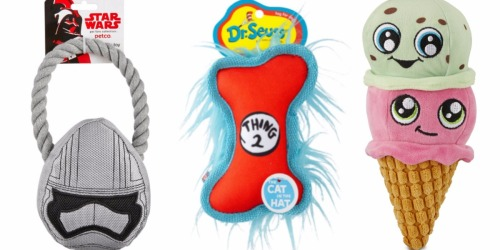 Petco: Up to 70% Off Select Dog Toys (Today Only)