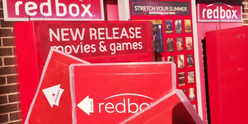 FREE Redbox DVD, Blu-ray Or Game Rental (Text Offer)