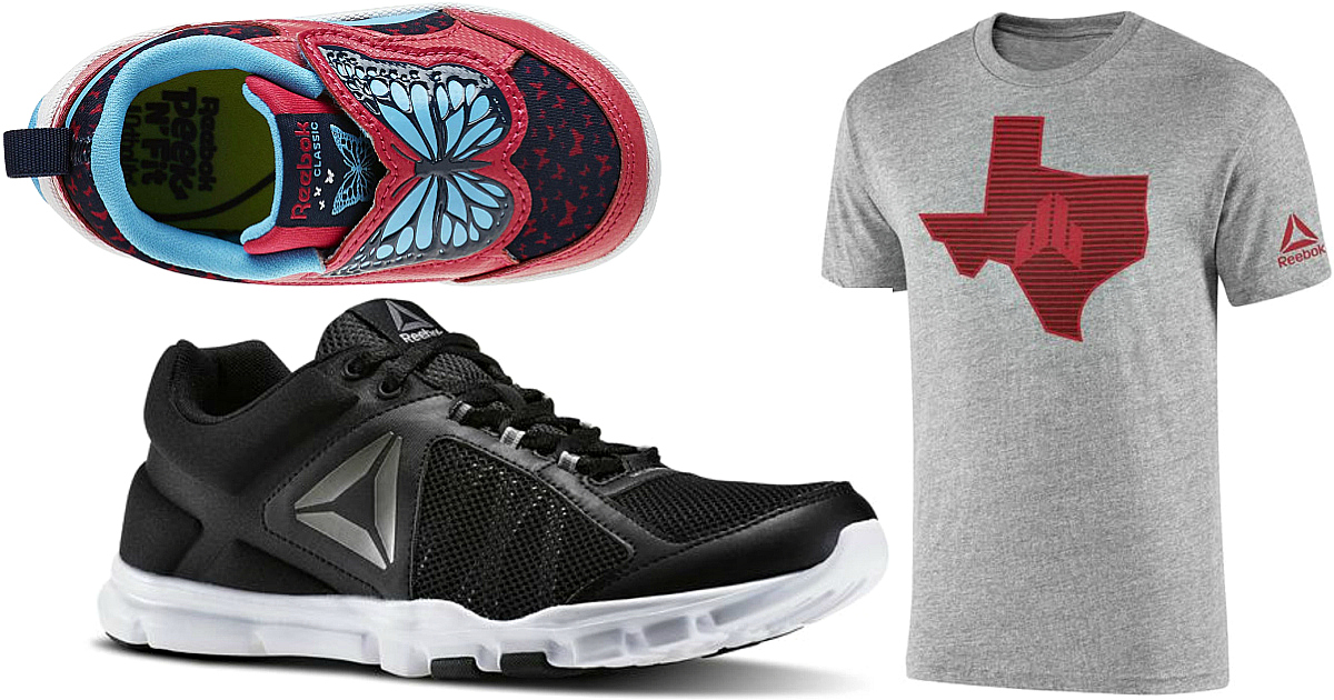 Reebok  Up to 40% Off Labor Day Sale   2 Pairs of Shoes AND 2 Tees Just   56.94 Shipped - Hip2Save 0741e821d
