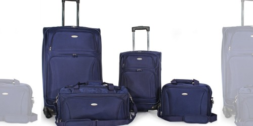 Samsonite 4-Piece Lightweight Luggage Set Just $140 Shipped (Regularly $280)