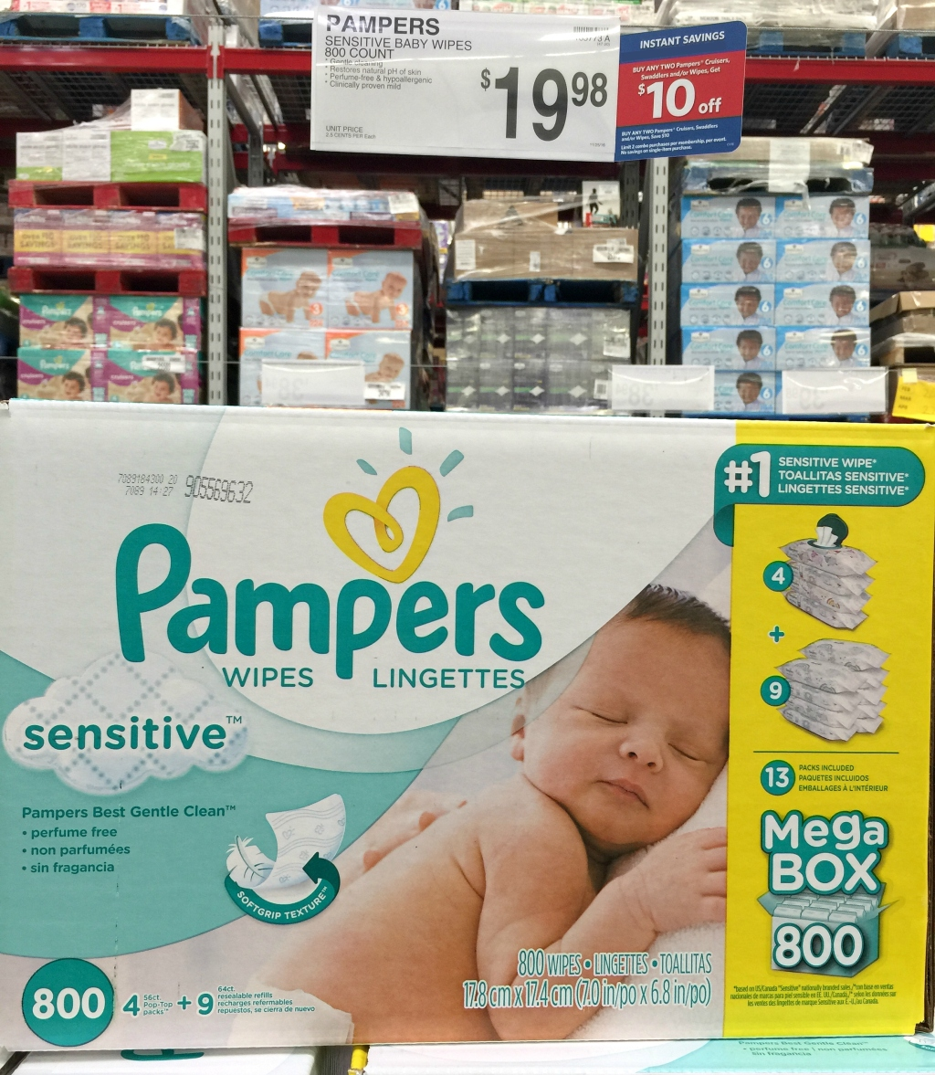 Sam S Club Shoppers Save Up To 18 Off Pampers Amp Luvs