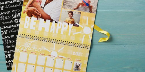 FREE Shutterfly Wall Calendar for My Coke Rewards Members – Just Enter ANY Product Code
