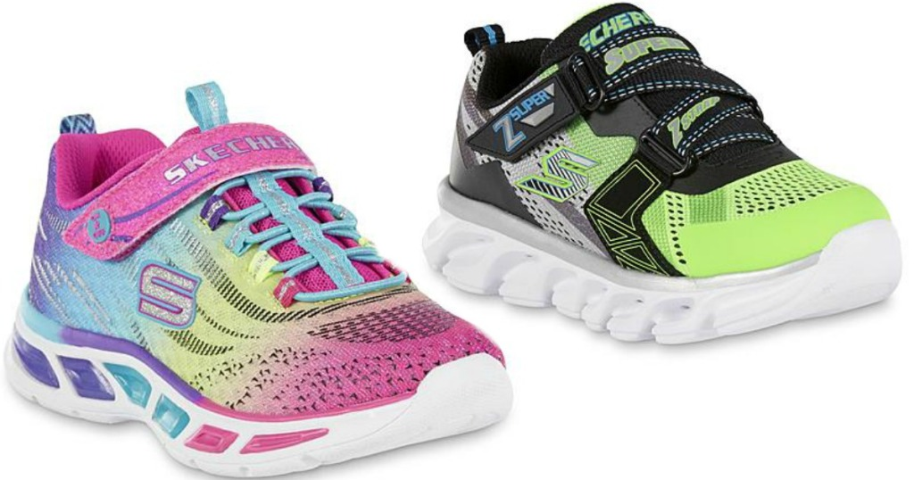 448a32952c93 Sears.com  Kids Skechers Light-Up Sneakers Only  23.99 (Regularly  39.99)