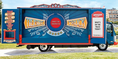 $10 Off Amazon Treasure Truck Purchase