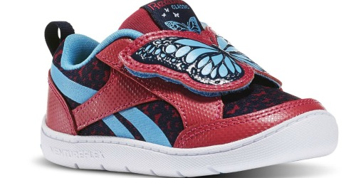 Reebok: Extra 30% Off Outlet Items = Butterfly Kid's Shoes Only $17.48 (Reg. $40)