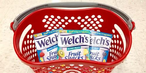 Target: Welch's Fruit Snacks Just $1.12 Each