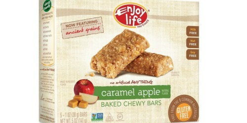 Amazon: Enjoy Life Gluten-Free Chewy Bars 30 Count Just $14.59 Shipped (49¢Per Bar)