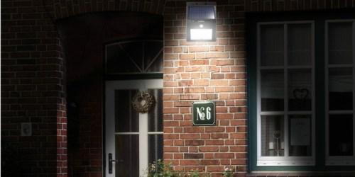 Amazon: 4-Pack Seatore Solar LED Lights Only $31.99 Shipped (Waterproof w/ Motion Sensor)