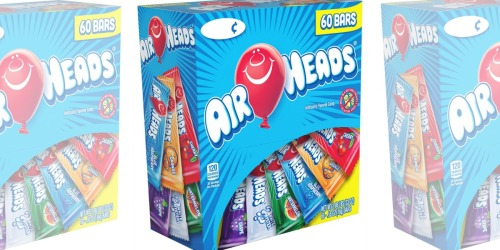 Amazon: Airheads 60-Count Variety Pack Only $6.38 Shipped