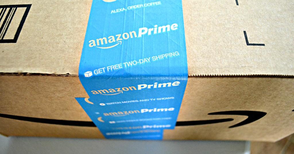 Amazon Prime shipping box