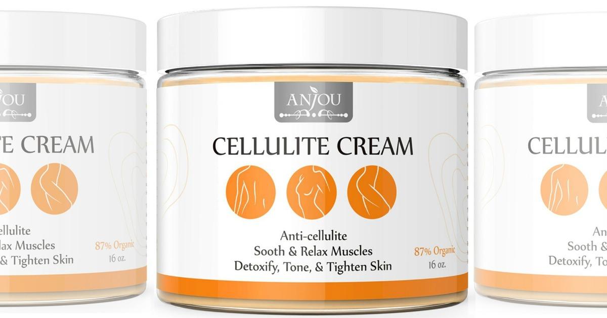 Amazon: Anjou Anti-Cellulite Cream Only $9.89 Shipped
