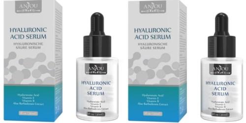 Amazon: Anjou Hyaluronic Acid Serum Just $6.99 (No More Dry Skin)