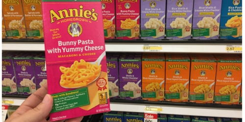 Target Shoppers! Annie's Organic Macaroni & Cheese ONLY 49¢