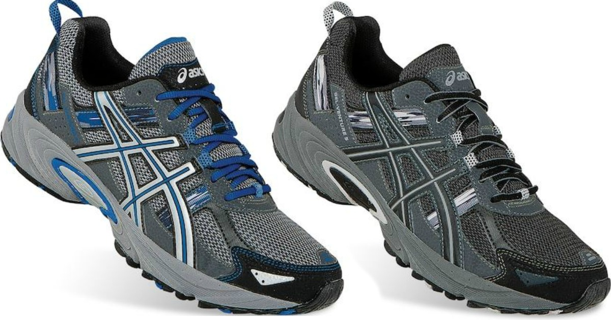 756ee6a43bb Head over to Kohls.com where they have ASICS GEL Venture 5 Men's Trail Running  Shoes on sale for $59.99 (regularly $64.99). Even sweeter, through  September ...