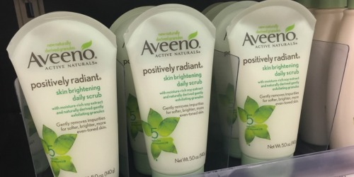 Get $4 Off Aveeno Facial Cleanser & Body Lotion w/ Printable Coupons