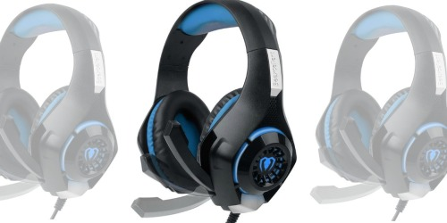 Amazon: Gaming Headset w/ Microphone Only $14.99