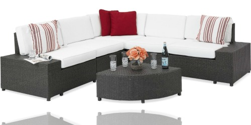 Best Choice 6-Piece Wicker Sectional Sofa Only $675 Shipped (Regularly $2,000)