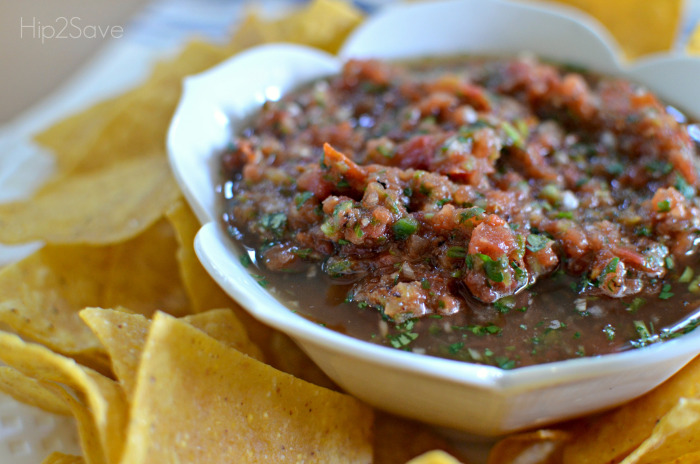 football party food ideas for game day include recipes like easy restaurant style salsa