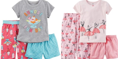 Kohl's Cardholders: Carters 3-Piece Pajama Sets Just $4.76 Shipped (Regularly $34)