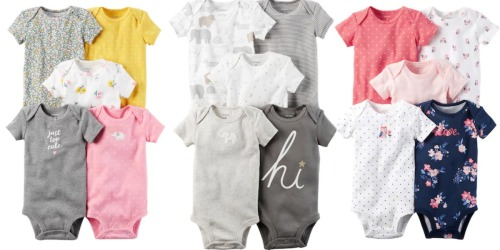 Kohls.com: Carter's 5-Pack Bodysuits Only $8.84 (Regularly $26) + More