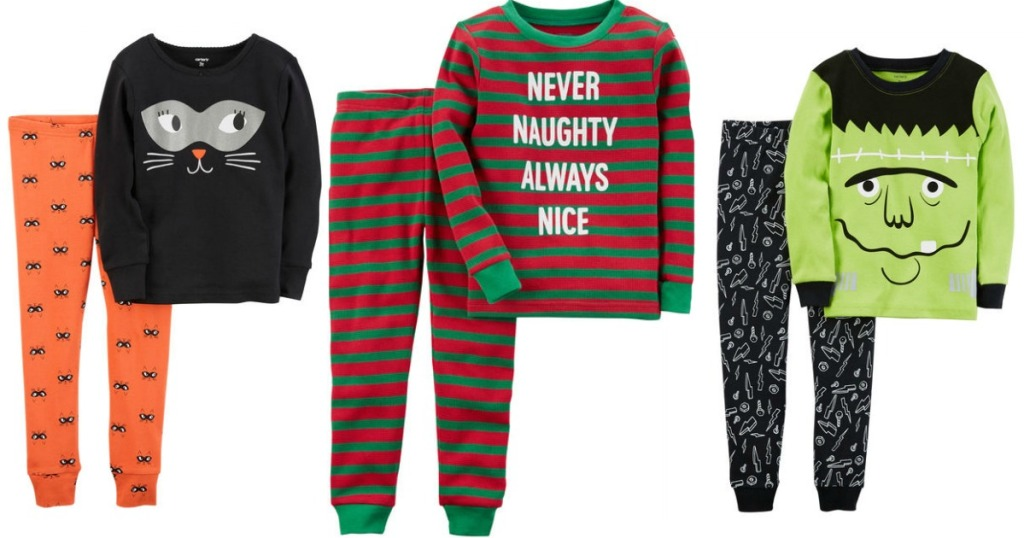 c4ac42536 Carter's Pajama Sets Only $6.12 (Regularly $20+) ~ CUTE Halloween &  Christmas Styles