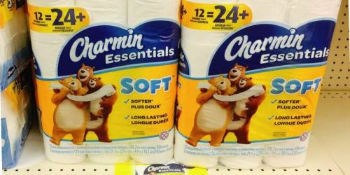 Charmin Toilet Paper 12-Pack Only $4 at Walgreens.com