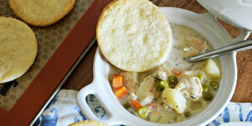 Slow Cooker Chicken Pot Pie Soup Recipe
